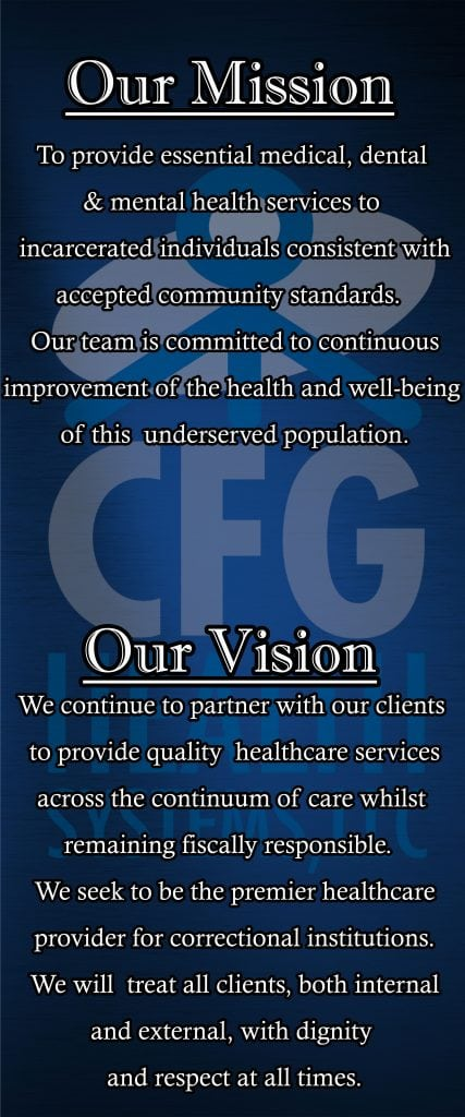 About Us - CFG Health Systems, LLC
